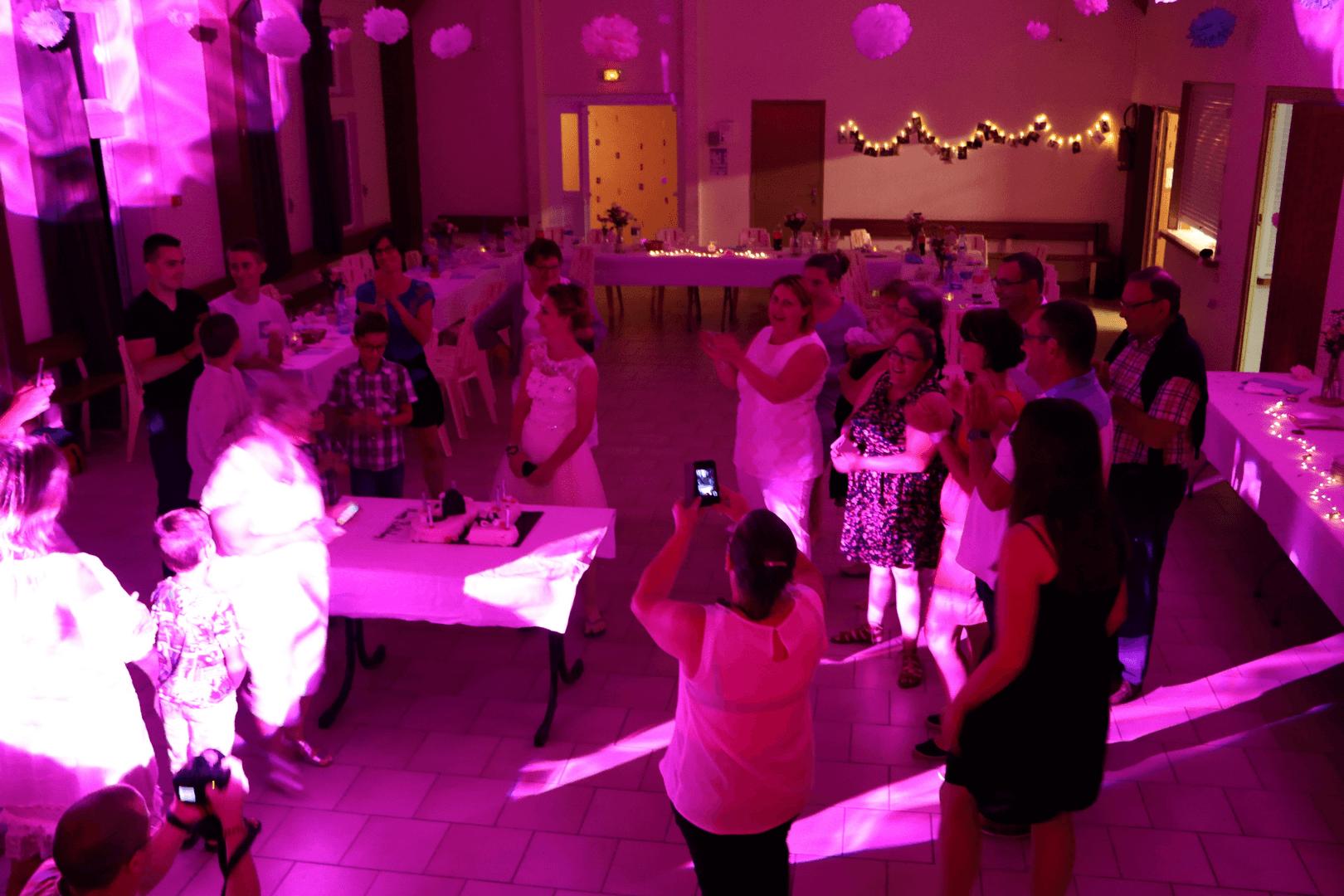 Anniversaire - Salle des fêtes de Dammard